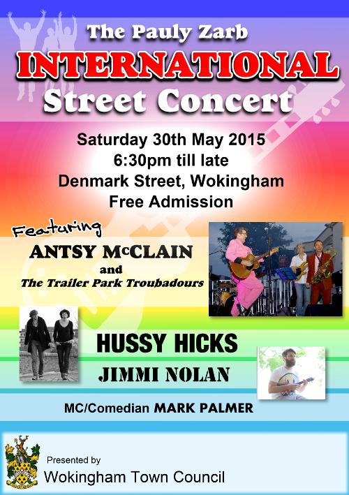Street Concert 2015